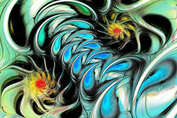 Malakhova Art Print featuring the digital art Brain Stimulation by Anastasiya Malakhova