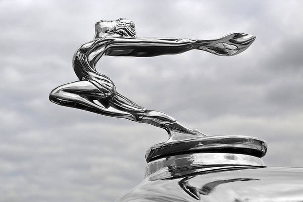 Buick Art Print featuring the photograph Buick Hood Ornament by Gill Billington