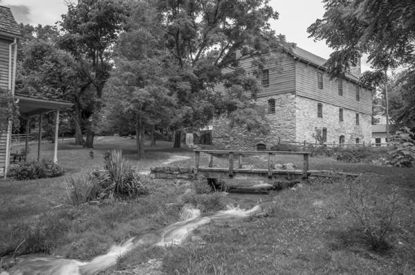 Burwell-morgan Mill Art Print featuring the photograph Burwell-morgan Mill by Guy Whiteley