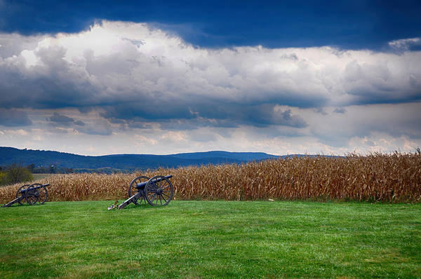 Cannon Art Print featuring the photograph Calm Before The Storm 2 by Rhonda Negard