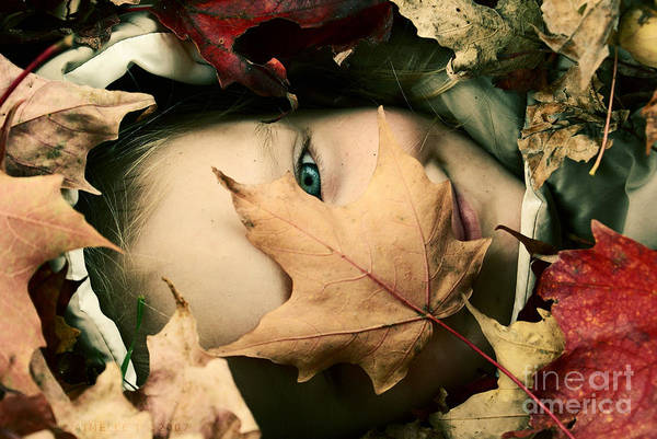 Autumn Photography Prints Art Print featuring the photograph Camouflage by Aimelle