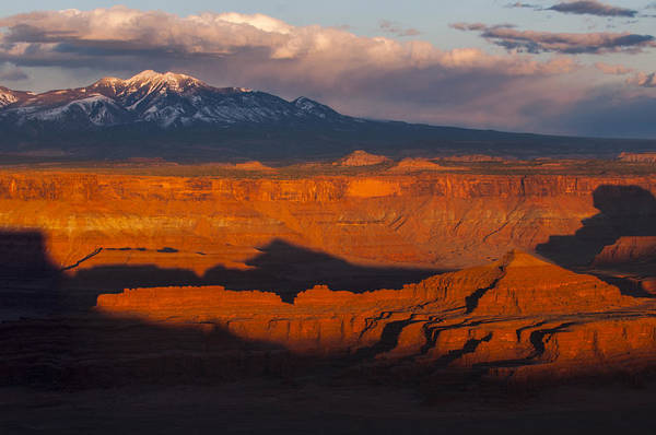 Canyonlands Print featuring the photograph Canyonlands Light by Joseph Rossbach
