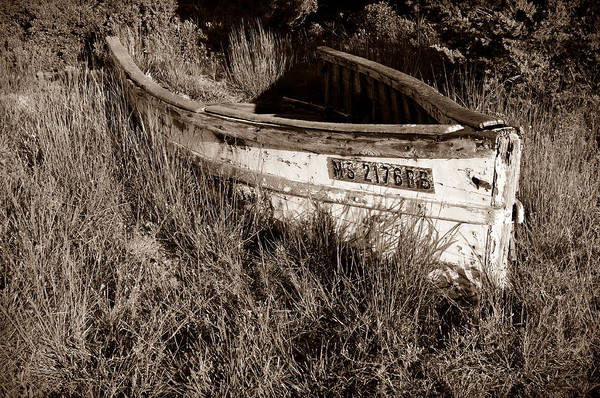 Boat Art Print featuring the photograph Cape Cod Skiff by Luke Moore