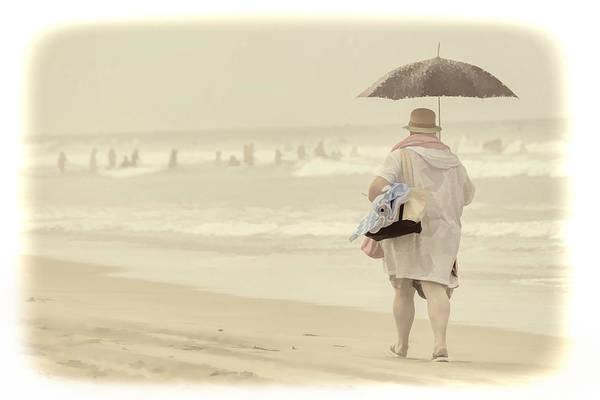 Beach Art Print featuring the photograph Carpe Diem by Kim Swanson