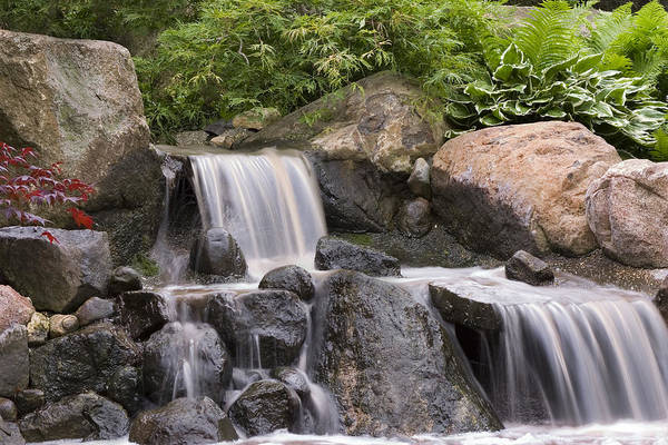 3scape Photos Art Print featuring the photograph Cascade Waterfall by Adam Romanowicz