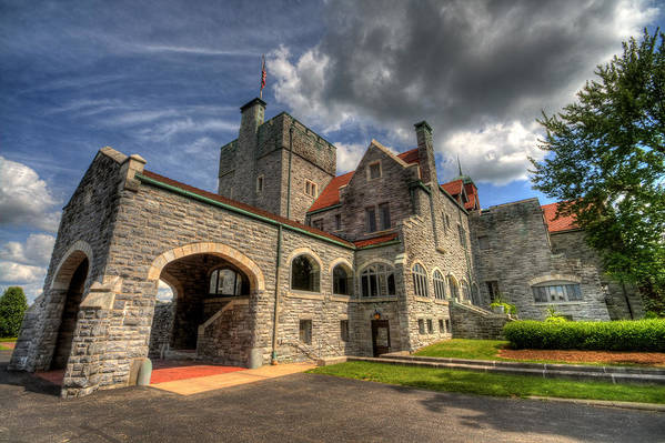 Castle Art Print featuring the photograph Castle Administration Building by David Dufresne