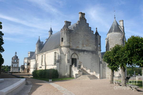Castle Art Print featuring the photograph Castle Loches - France by Christiane Schulze Art And Photography