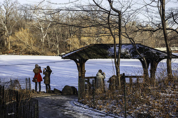 Central Park Art Print featuring the photograph Central Park Photo Op 2 - Nyc by Madeline Ellis