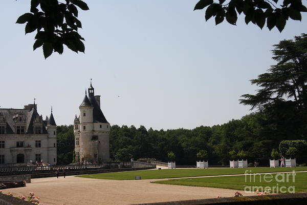 Castle Art Print featuring the photograph Chateau Chenonceau by Christiane Schulze Art And Photography