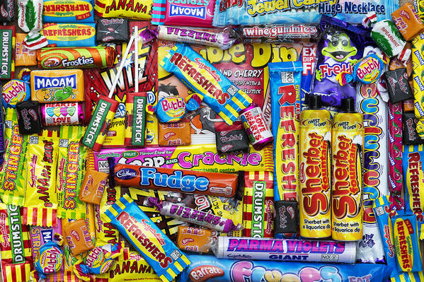 Sweets Art Print featuring the photograph Childhood Memories by Tim Gainey