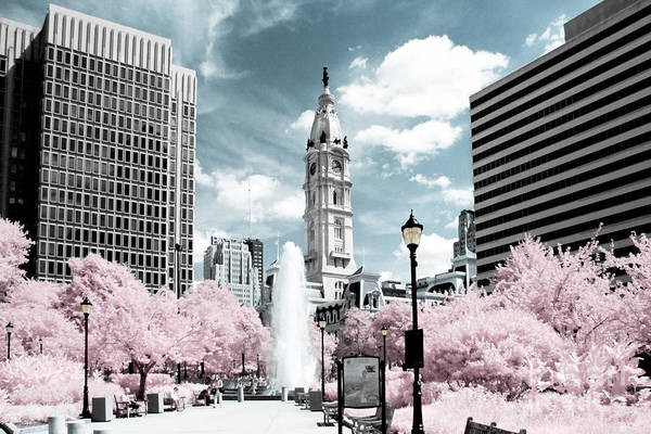 Philadelphia Art Print featuring the photograph City Hall In Spring by Stacey Granger