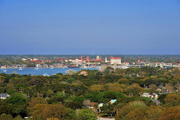 St Art Print featuring the photograph City Of St Augustine Florida by Christine Till