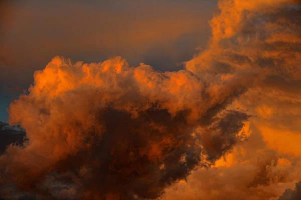 Sunset Art Print featuring the photograph Cloud 20140529-13 by Carolyn Fletcher