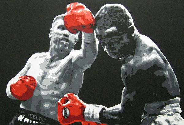 Collins Art Print featuring the painting Collins V Eubank 1 by Geo Thomson