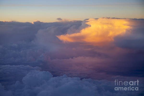 Above Art Print featuring the photograph Colorful Cloud by Brian Jannsen