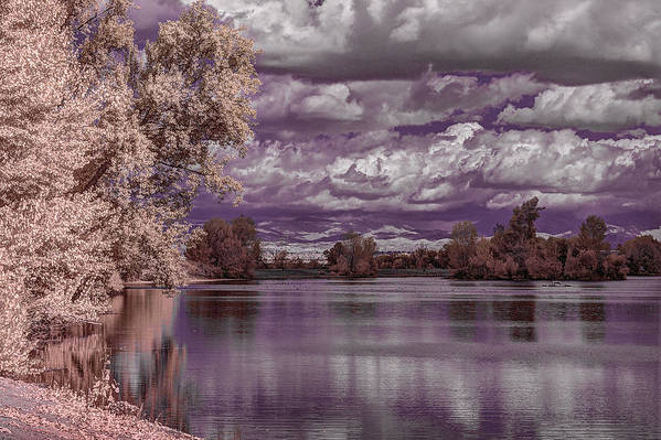 Lake Art Print featuring the photograph Constant Change by Marta Cavazos-Hernandez