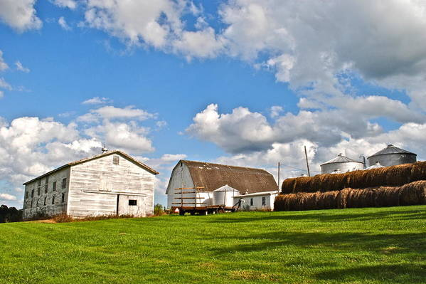 Country Art Print featuring the photograph Country Farm by Frozen in Time Fine Art Photography