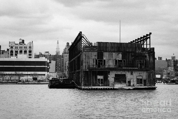 Usa Art Print featuring the photograph Currently Condemned Pier 64 On The Hudson River New York City by Joe Fox