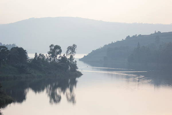 Water Art Print featuring the photograph Dawn On Lake Victoria by Pat Tracey