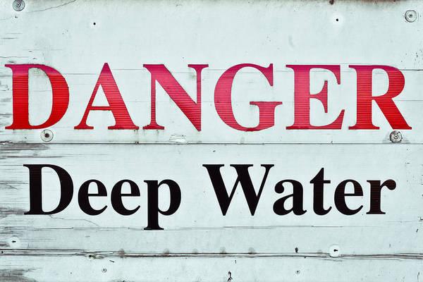 Aquatic Art Print featuring the photograph Deep Water by Tom Gowanlock
