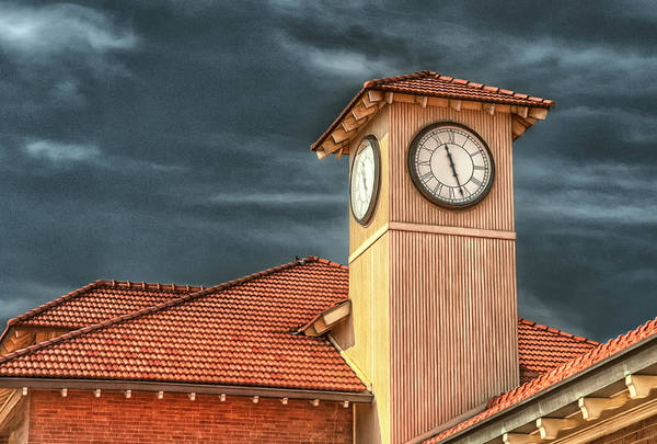 Time Art Print featuring the photograph Depot Time by Brenda Bryant
