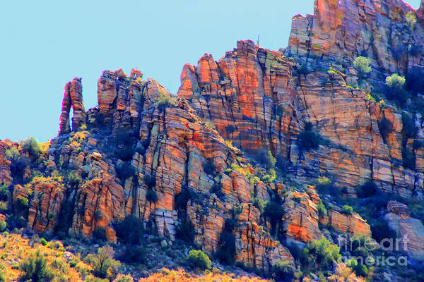 Sabino Canyon Art Print featuring the photograph Desert Paint by Tap On Photo