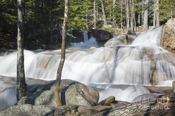 Waterfall Art Print featuring the photograph Dianas Bath - North Conway New Hampshire Usa by Erin Paul Donovan