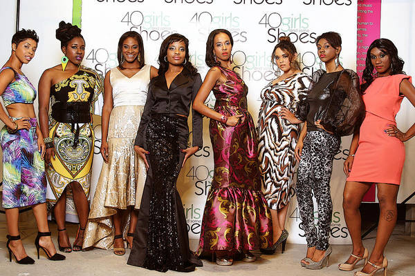 Portrait Art Print featuring the photograph Divas Of The Runway by Kehinde Thompson