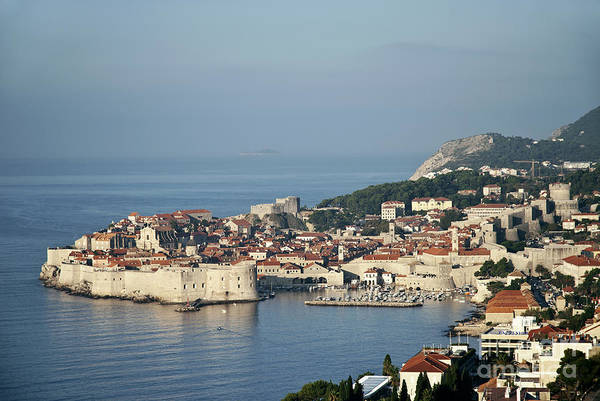 Adriatic Art Print featuring the photograph Dubrovnik In Croatia by JM Travel Photography