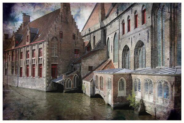 Buildings Art Print featuring the photograph Dusk by Robert Seidman
