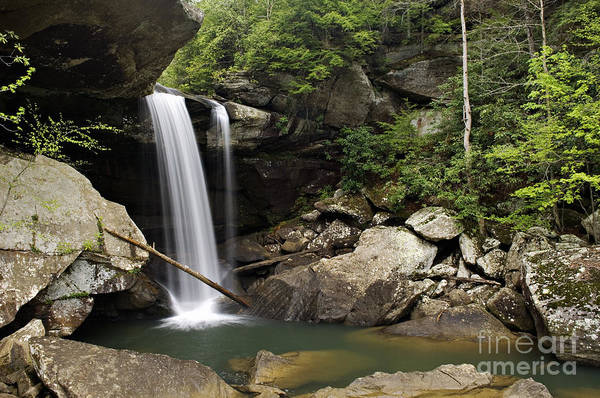 Eagle Print featuring the photograph Eagle Falls - D002751 by Daniel Dempster