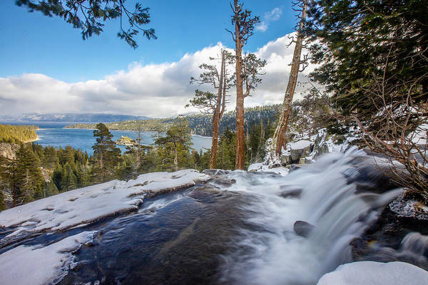Landscape Art Print featuring the photograph Eagle Falls Into Emerald Bay by Robert Aycock