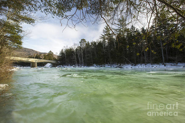 East Branch Of The Pemigewasset River Art Print featuring the photograph East Branch Of The Pemigewasset River - Lincoln New Hampshire Usa by Erin Paul Donovan