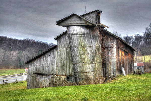 Barns Art Print featuring the photograph Ei-ei-eio Old Mcdonald Has A Farm by David Simons