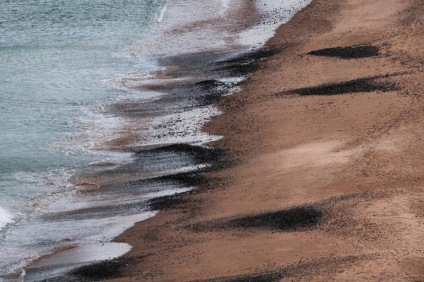 Magdalen Islands Art Print featuring the photograph Elements by PNDT Photo