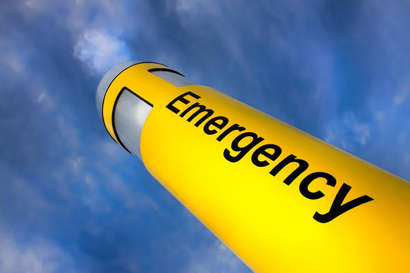 Emergency Art Print featuring the photograph Emergency by Ron Pate