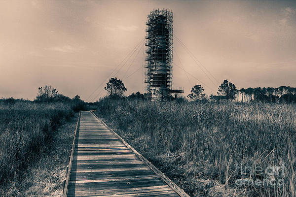 Bodie Art Print featuring the digital art Extreme Makeover Lighthouse Edition by Tony Cooper