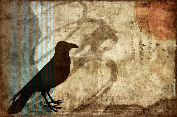 Raven Art Print featuring the photograph Facing Future by Carol Leigh