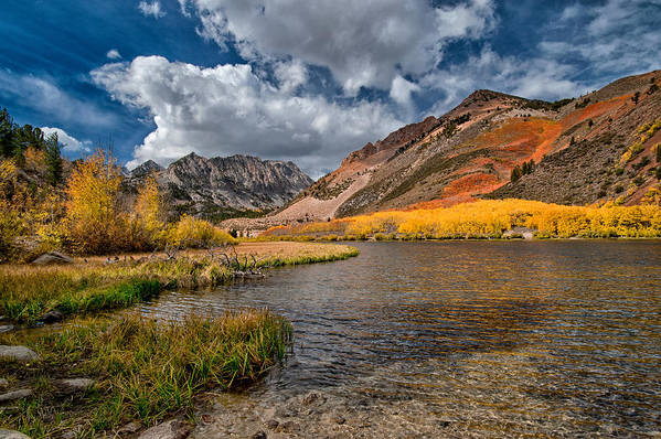 Fall Art Print featuring the photograph Fall At North Lake by Cat Connor