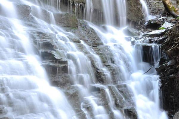 Waterfall Art Print featuring the photograph Falls Of Illumination by Denise Gleason