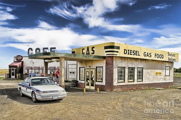Corner Gas Art Print featuring the photograph Fill It Up by Nicholas Kokil
