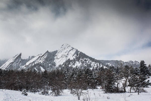 Landscape Art Print featuring the photograph Flatiron Winter by Greg Moore