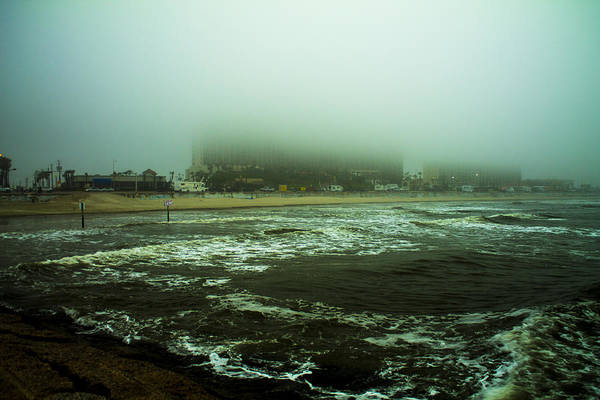 Bay Art Print featuring the photograph Foggy Day by Matt Johnson
