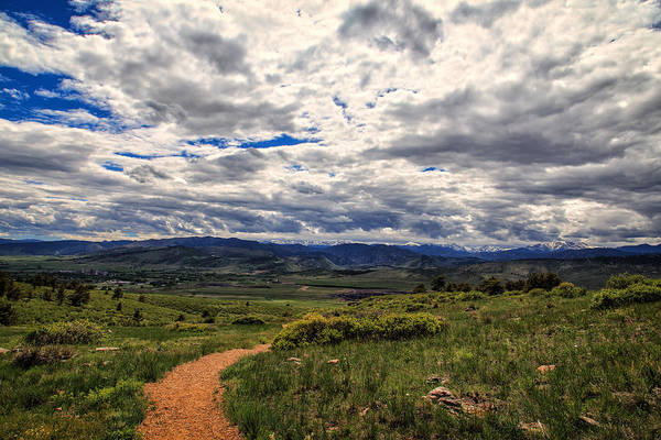 Colorado Art Print featuring the photograph Follow The Path by Tony Boyajian