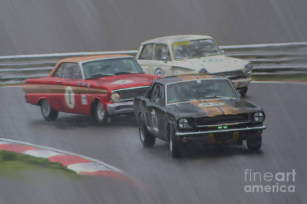 Ford Art Print featuring the digital art Ford Trio by Roger Lighterness