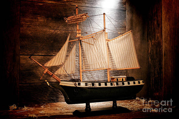 Ship Art Print featuring the photograph Forgotten Toy by Olivier Le Queinec