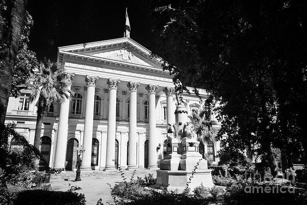 Former Art Print featuring the photograph former national congress building Santiago Chile by Joe Fox