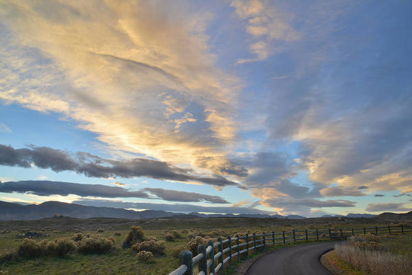 Sunset Art Print featuring the photograph Fort Collins Sunset by Ray Mathis