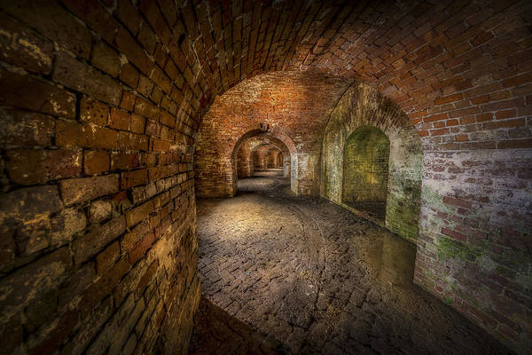 Fort Macomb Art Print featuring the photograph Fort Macomb by David Morefield