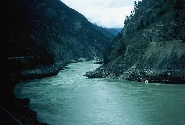 Scenic Art Print featuring the photograph Fraser River by Dick Willis